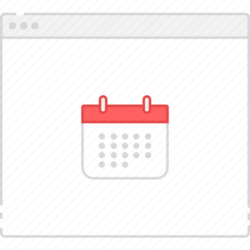 calendar, flowchart, page, sitemap, user flow, workflow icon