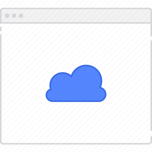 cloud, flowchart, page, sitemap, user flow, workflow icon