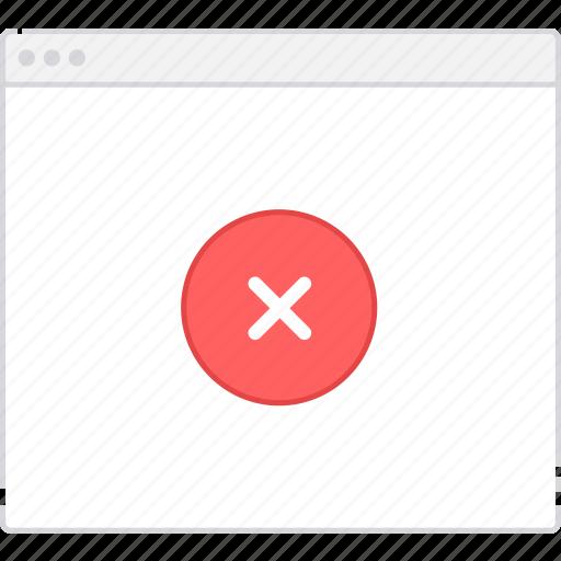 error, flowchart, page, sitemap, user flow, workflow icon