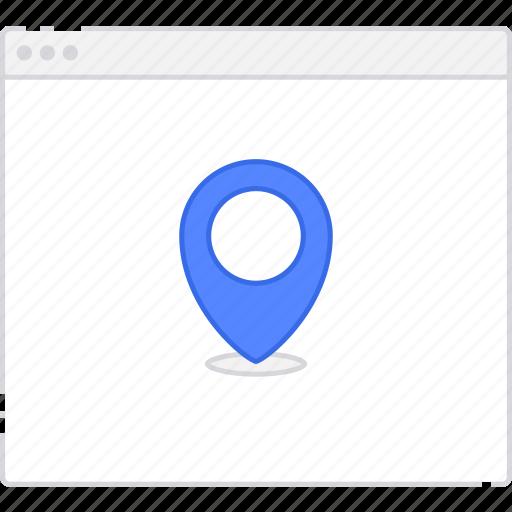 flowchart, location, page, sitemap, user flow, workflow icon
