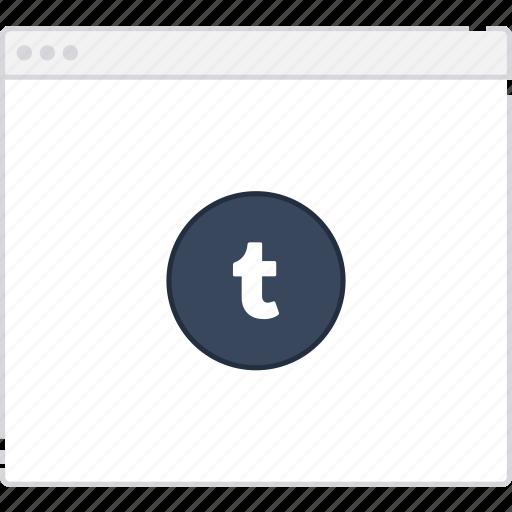 Workflow, user flow, tumblr, flowchart, page, sitemap icon
