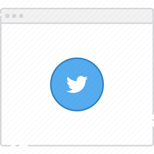Workflow, twitter, user flow, flowchart, page, sitemap icon