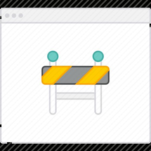 construction, flowchart, page, sitemap, under, user flow, workflow icon