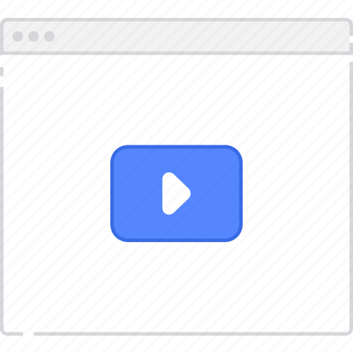flowchart, page, sitemap, user flow, video, workflow icon