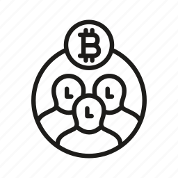 bitcoin, business, cocreation, community, stakeholder, stakeholders icon