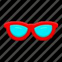 beach, eyeglasses, glasses, traveling, vacation icon