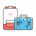 vacation, bag, suitcase, briefcase, holiday, business