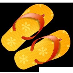 flip, flops, summer icon
