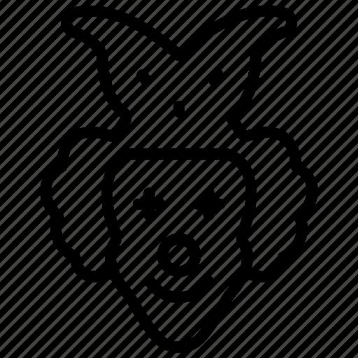Buffoon, clown, jester, joker, joker face icon - Download on Iconfinder