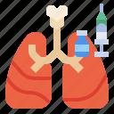 protect, pneumonia, antivirus, protection, vaccine, serum icon