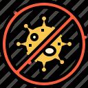 anti, virus, ban, bacteria