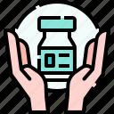 hands, vaccine, medicine, protection