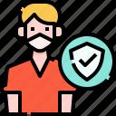 immunity, man, avatar, people, person