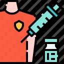 injection, vaccine, syringe, medicine