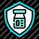 shield, vaccine, drug, vaccination, pharmacy