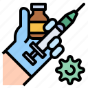 medicine, serum, antivirus, syringe, vaccines