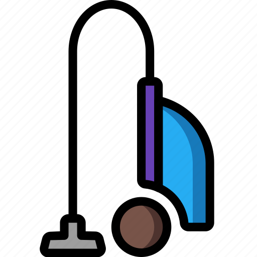 Appliance, cleaning, color, domestic, hoover, small, vacuum icon - Download on Iconfinder