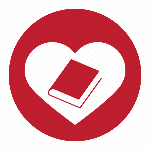 book, communication, message, reference, talk, valentine icon