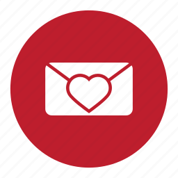 chat, email, heart, love, mail, message, valentine icon