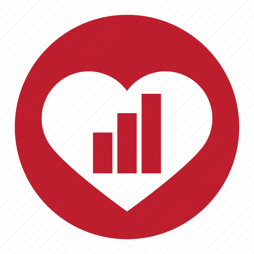 heart, measure, measurement, meter, ruler, valentine icon