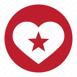 achievement, best, favorite, rated, star, valentine icon