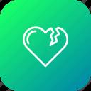 heart, bakeup, valentine, break, relation, moveon, reject