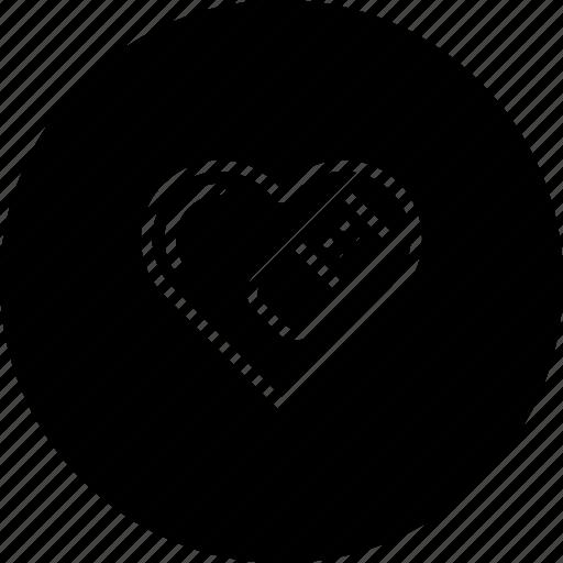 break, heal, heart, love, moveon, relation, valentine icon