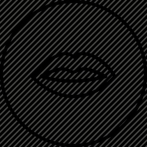 kiss, lip, liplock, love, sex, smooch, valentine icon