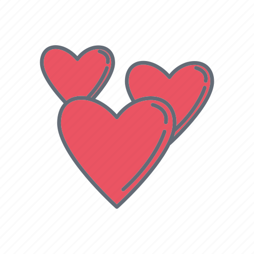 love, lovers, romance, valentine icon