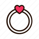 couple, heart, love, pink, romance, romantic, valentine icon