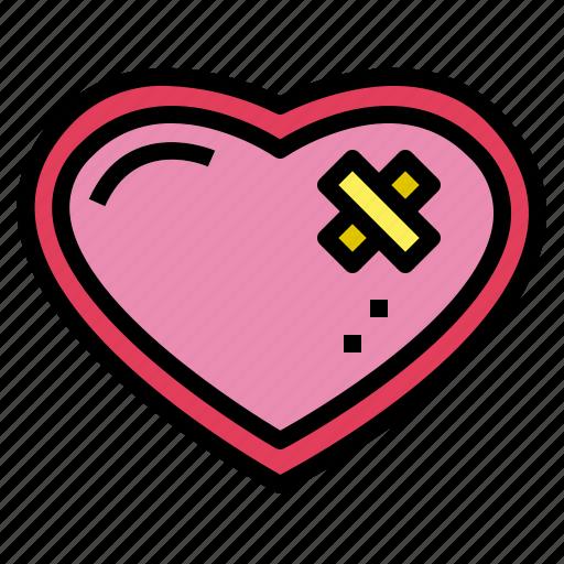 health, heart, loving, shape icon