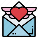 communications, email, letter, postcard icon