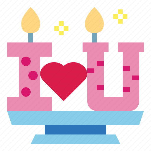 Candles, heart, love, valentine icon - Download on Iconfinder