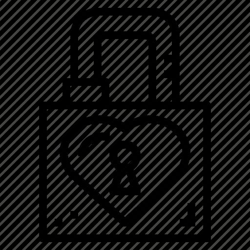Love, padlock, romantic, valentines icon - Download on Iconfinder