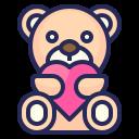 love, valentines, romantic, gift, teddy bear