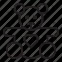 love, valentine, heart, couple, teddy, bear