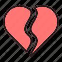 love, valentine, heart, couple, romance, wedding, broken