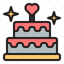 love, valentine, heart, couple, romance, wedding, cake