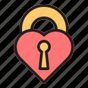 love, valentine, heart, couple, romance, wedding, lock