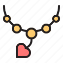 love, valentine, heart, couple, romance, wedding, necklace