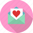 heart, love letter, love, letter, valentine, valentines, envelope