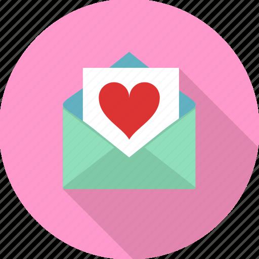 Heart, letter, love, love letter, valentine, envelope, valentines icon - Download on Iconfinder