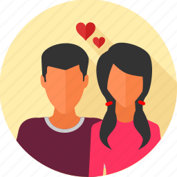 couple, love, love birds, marriage, romantic, valentine, wedding icon