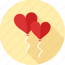 decoration, heart, love, romance, romantic, valentine, valentines icon