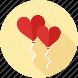 decoration, heart, love, romance, romantic, valentine, valentines icon