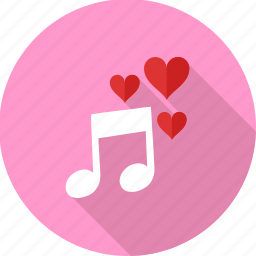 instrument, love, music, musical, romantic, song, songs icon