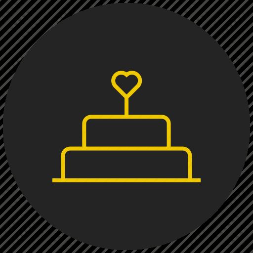 cake, celebration, favorite cake icon