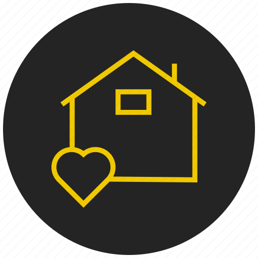 favorite home, favorite house, home icon