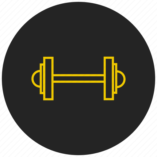 body building, dumbell, exercise, gym, weight lifting icon