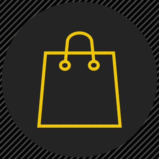 buy, fashion, female, hand bag, shopping bag, womens accessories icon